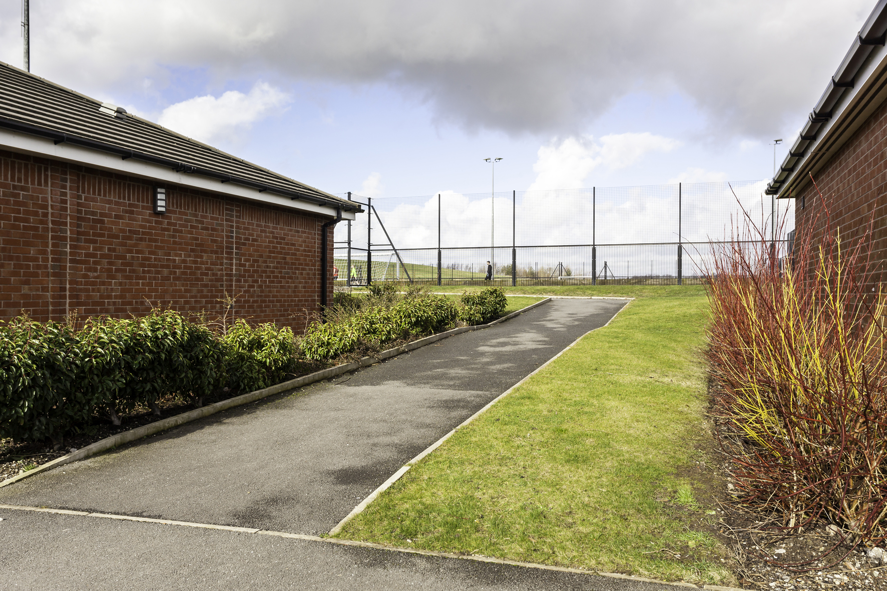 Sports Pitches Outside, path